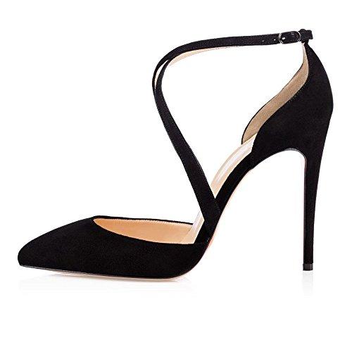 Kolnoo - Tira de tobillo Mujer negro
