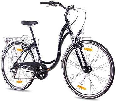 KCP - PRIMAVERA Bicicleta de paseo retro para mujer, tamaño 28 ...