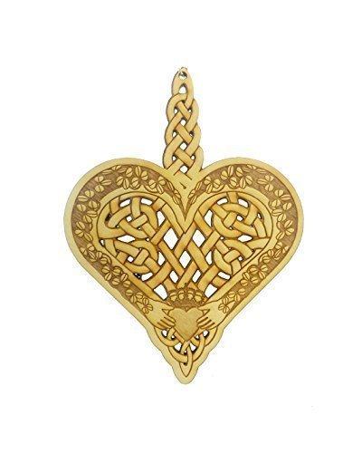 Celtic Ornament - Celtic Gift - Celtic Design - Irish Decor - Celtic Knot Ornament - Celtic Art - Claddagh Ornament