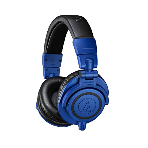 (Audio-Technica ATH-M50xBB Limited Edition Professional Studio Monitor Headphones,)