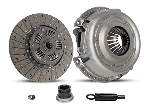 Clutch Kit works with Jeep J10 J20 Cj5 Cj6 J-100 J-2500 J-2600 Jeepster Wagoneer Cherokee AMC Ambassador Rebel Base Hardtop Renegade Sport Commando SST DPL 550 1966-1977 3.8L 4.2L L6 5.0L 5.6L 6.4L V8