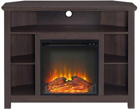 electric fireplace on stand - 2