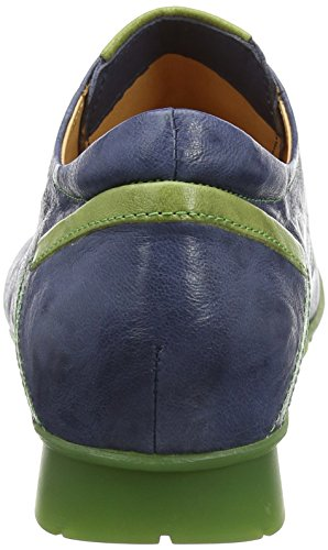 Think Menscha_282070, Scarpe Stringate Derby Donna Blu (Jeans/Kombi 84)