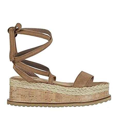 2902eea530e65 Amazon.com: DingXiong Summer White Women Platform Sandals Open Toe ...