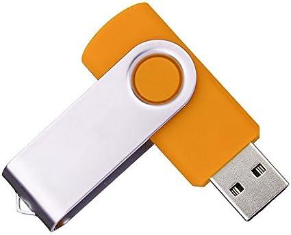 Lot de 50 cl/és USB 2.0 flash drive pliables 128MB Green