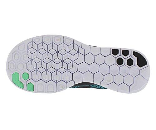 Nike Vrouwen Gratis 5.0 Afdruk Loopschoenen Blauwe Lagune / Groene Gloed Ons 6