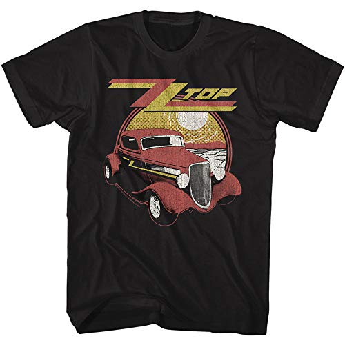 ZZ Top Rock Band Music Group Eliminator Adult T-Shirt Tee