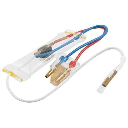 eDealMax KSD303-A 250V 3 Wire -7 centígrados interruptor del refrigerador de descongelación del