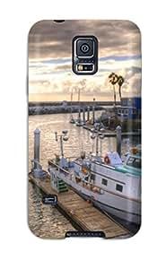 High Grade MeaganSCleveland Flexible Tpu Case For Galaxy S5 - Locations Redondo Beach