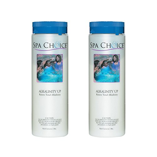 SpaChoice 472-3-4021-02 Alkalinity Up for Spas and Hot Tubs, 2-Pounds, 2-Pack