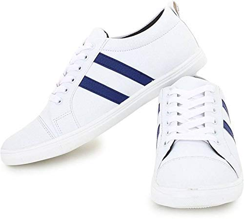 Primo Cleats Men's White Casual Shoes