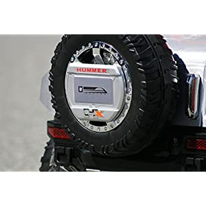 Hummer-HX-Kids-Ride-on-Battery-Powered-Electric-Car-with-Remote-Control-12Volt-SILVER-rideONEcar
