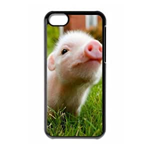 LJF phone case C-Y-F-CASE DIY Little Pig Pattern Phone Case For phone iphone 5/5s