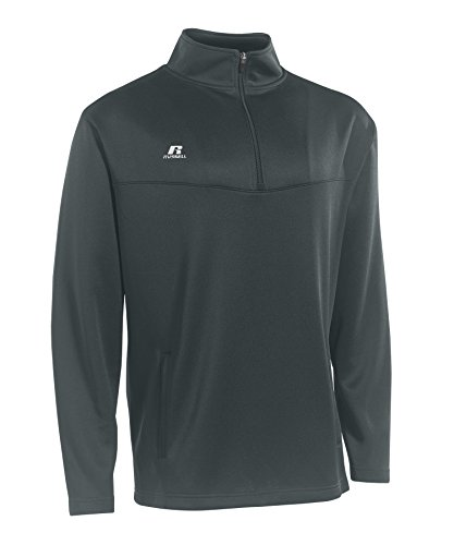 Russell Athletic Men's 1/4 Zip Pullover Stealth L