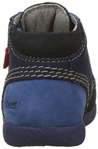 Bottes Babystan bébé Bleu Mixte Kickers Marine 101 Bleu 5Uq4PpFyp