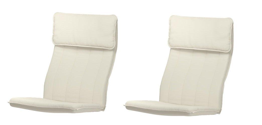 2 x IKEA cojines para Poang sillón, Ransta naturales (Juego ...