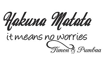 Timon And Pumbaa Quotes Hakuna Matata Images Galleries With A Bite