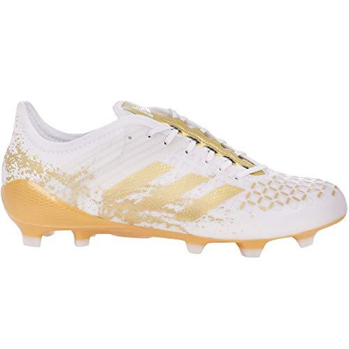 adidas Performance Mens Predator Malice Control FG Rugby Boots - 8.5 White