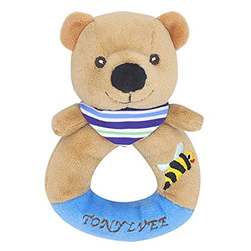 ERLOU Educational Toy Children Cute Baby Crib Hanging Toys Infant Stroller Car Seat Bed Newborn Activity Development Boys Girls Gifts (D) ()