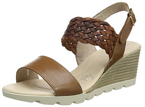 shop online purchase online BATA Women's 764309 Sling Back Sandals Brown (Marrone 3) outlet hot sale from china free shipping low price Jt77lU