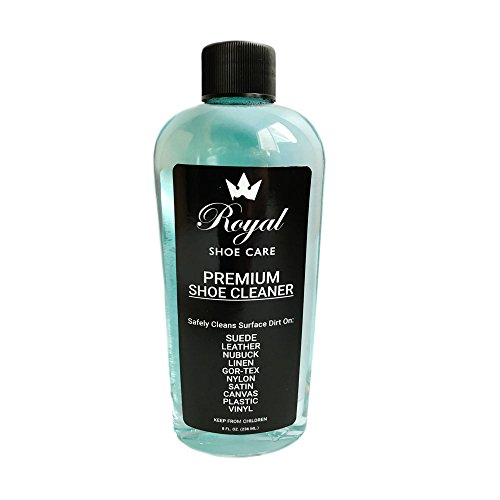 Royal Shoe Cleaner 8 ounces / Sneaker Cleaner For Canvas, Leather, Suede, and ()