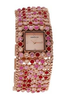 Watch Woman Manoush Movement Quartz Case Rose Gold 28mm And Bracelet Rose Gold Made In Steel MSHMAP