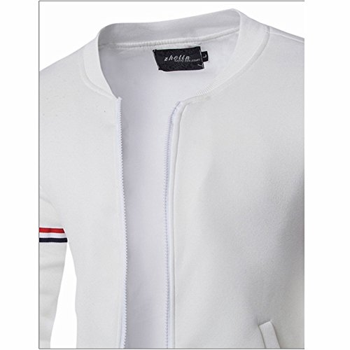 Gift Lana Reverse White Wind Cardigan Angelof Occlusion Cappotti Christmas Parka uomo Original Warm Artificiale invernale Abbigliamento ZxCZYIwq7