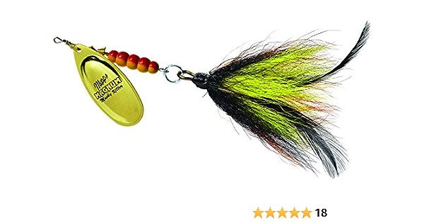 FTM Fishing Tackle Max Mega Masu Mr Lures 3,5cm 35mm 2,5g UV Camou Orange UL