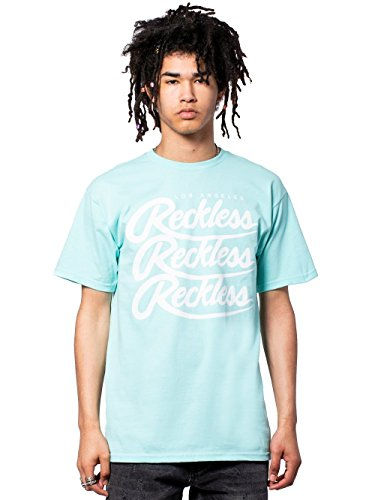 Young and Reckless - Triplex Tee - Celadon Green - 2X - Mens - Tees - Graphic Tee - Celadon