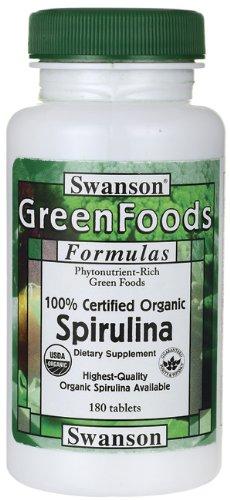 100% Certified Organic Spiruli...