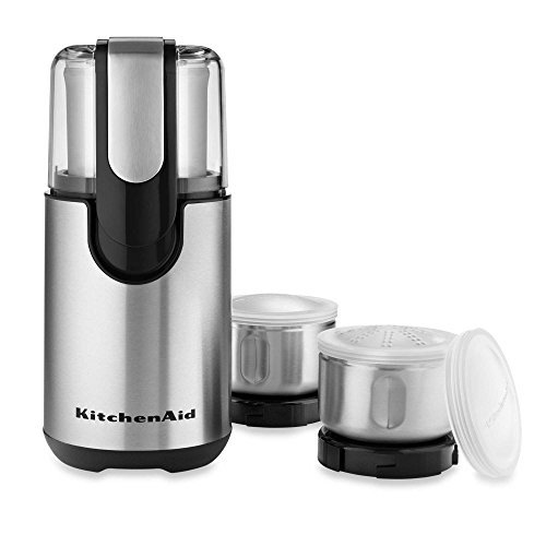 Kitchenaid Coffee Grinder | Stainless Steel Blade Coffee Grinder and Spice Grinder Pack by KitchenAid