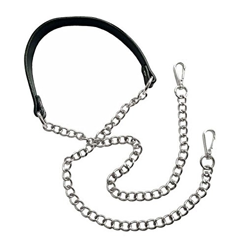 Purse Chain Strap - Replacement for Shoulder and Crossbody Bag, Adjustable 51 inch Long and 0.8 inch Wide (Silver), by Beaulegan by Beaulegan