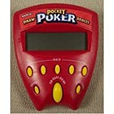 Pocket Poker Draw and Deuces 2 in 1 Handheld Game (1999 Edition)