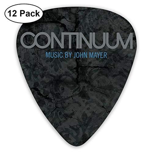 JOHNATHANGRIFFIN John Mayer Continuum Guitar Picks Premium Pack Assorted Thin/Medium/Heavy 12-Pack