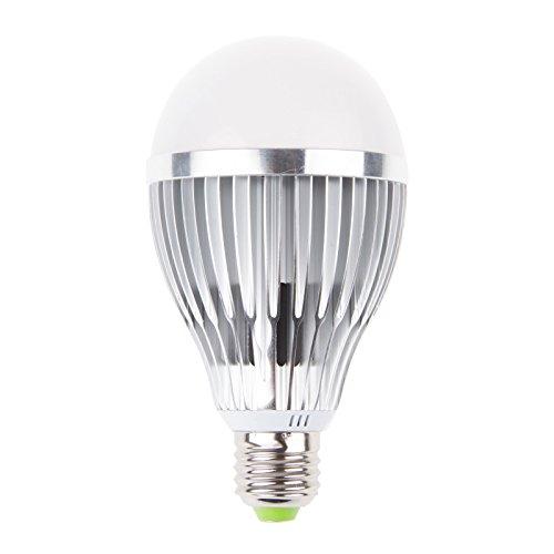 Lemonbest 12 Watts E27 LED Plants Grow Light RB Full Spectrum Flowering Globe Bulb