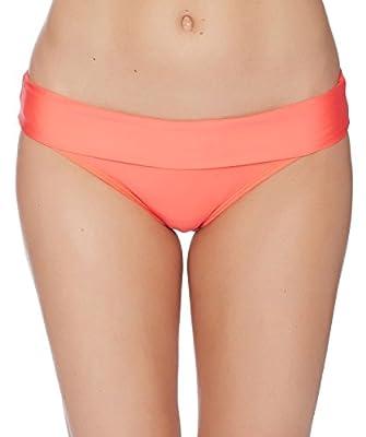 Splendid Women's Stitch Solid Banded Bikini Bottom