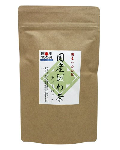 Loquat Leaf Tea 20 Tea Bags - Product of Japan Eriobotrya japonica Biwa (Loquat Leaf)