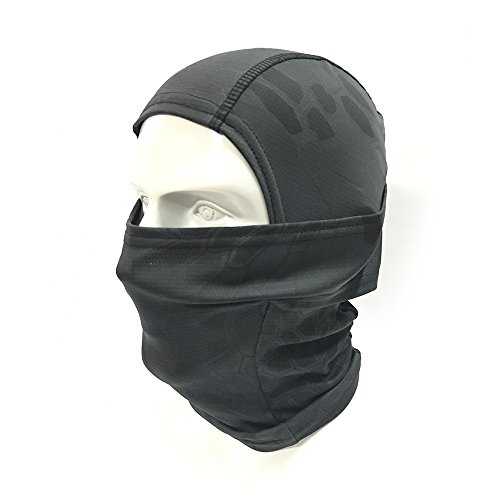 H World Shopping Tactical Outdoor Camo Hood Ninja Balaclavas - Import It All ee399598be80