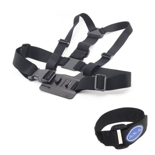 Chest Body Strap For GoPro Hero 3/2/1 with 3-way adjustment base