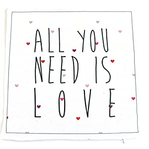 Valentines Day Covers Pillowcases Throw Pillows Sofa Bedding Home Decor Cushion Cover (17X17 ALL YOU NEED IS LOVE), All You Need is Love Pillow Case, Love Pillow Cover, Valentines Day Décor For Home