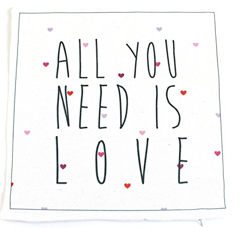Valentines Day Covers Pillowcases Throw Pillows Sofa Bedding Home Decor Cushion Cover (17X17 ALL YOU NEED IS LOVE), All You Need is Love Pillow Case, Love Pillow Cover, Valentines Day - Beach Newport Target