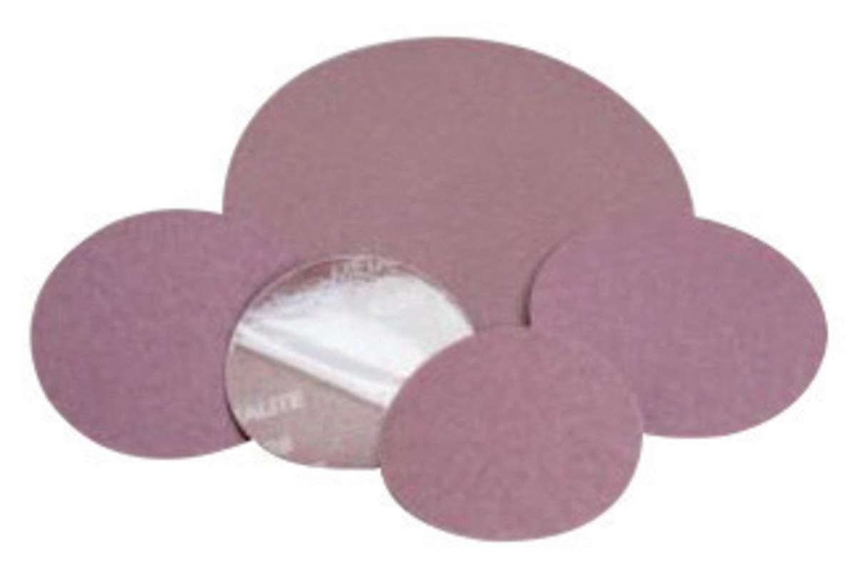 Standard Abrasives 5'' 60 Grit Aluminum Oxide Resin Bond PSA Disc - 500 Each/Case