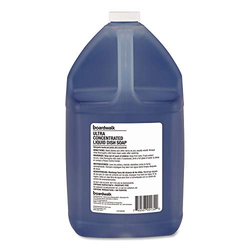 Boardwalk Ultra Concentrated Liquid Dish Soap, Clean, 1 gal, 4/Carton by Boardwalk (Image #2)