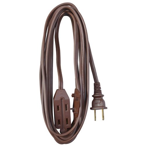 Vinyl Cube Tap - Master Electrician 09405ME 20-Feet Vinyl Cube Tap Extension Cord, Brown