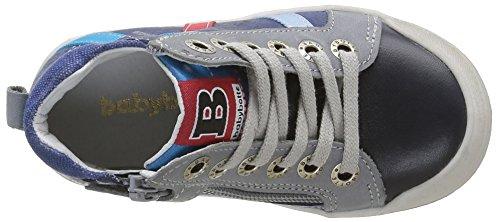 Babybotte Artistreet 1B4320 - Zapatillas con cordones para niños Azul (410 Marine)