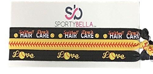 Softball Hair Accessories, Girls Softball Headband Perfect Softball Player and Softball Teams