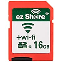 ezshare Class 10 16gb SD card with adapter and 90-day ez share Cloud Service