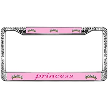 Amazon Com Gnd License Plate Frame For Women I Am The