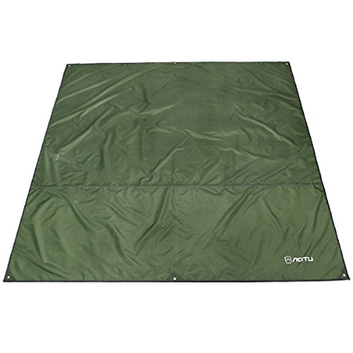 Azarxis Hammock Rain Fly Tent Tarp Ground Cloth Footprint Shelter Sunshade Beach Picnic Blanket Mat Sand Free Large Portable Waterproof Oxford for Outdoor Camping Park Lawn Grass Hiking Backpacking