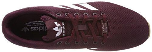 adidas Men's Zx Flux Trainers Red (Maroon/Footwear White/Collegiate Burgundy) nIIedRl